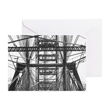 Chicago Ferris Wheel Greeting Card