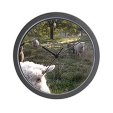 Wooly Friends Wall Clock