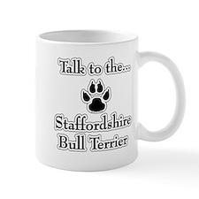 Staffy Talk Coffee Mug