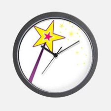 Magic Wand Wall Clock