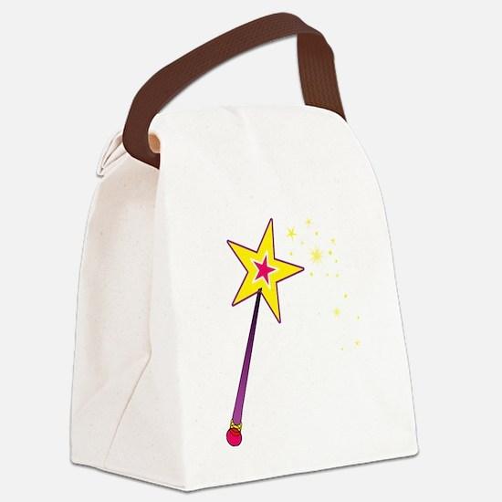 Magic Wand Canvas Lunch Bag