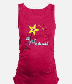 W is for Wand Maternity Tank Top