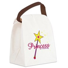 Princess in Training Canvas Lunch Bag