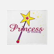 Princess in Training Throw Blanket