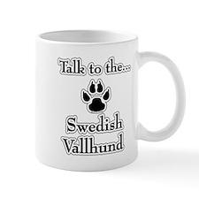 Vallhund Talk Coffee Mug