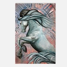 Blue Horse 16 23x25 Postcards (Package of 8)