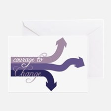 Courage To Change Greeting Card