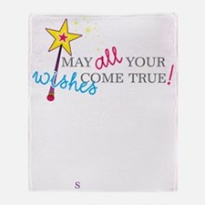 May all your wishes come true! Throw Blanket