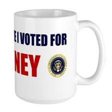 DONT BLAME ME I VOTED FOR ROMNEY BUMPER Mug
