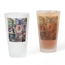 fairy all over t shirt Drinking Glass