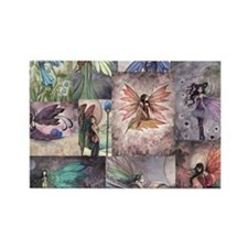 fairy all over t shirt Rectangle Magnet