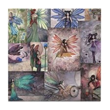 fairy all over t shirt Tile Coaster