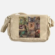 fairy all over t shirt Messenger Bag