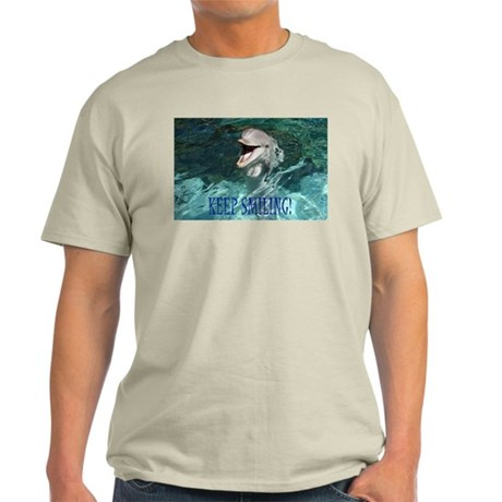 dolphin-keep smiling T-Shirt
