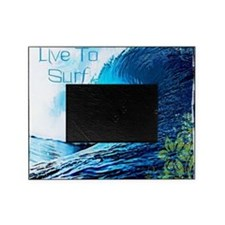 Live To Surf Picture Frame