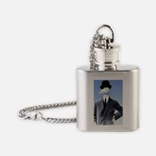 Head In The Clouds Flask Necklace