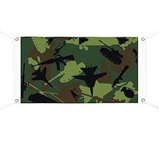 USMC Military Camouflage Banner