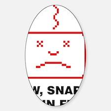 Brain full Sticker (Oval)