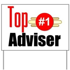 Top Adviser   Yard Sign