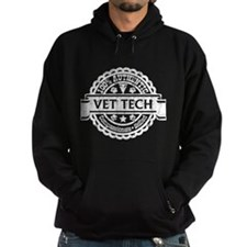 100% Authentic Vet Tech - Dark Hoodie