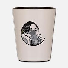 Graf mask all-over design Shot Glass