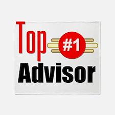 Top Advisor Throw Blanket