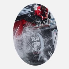 Volvo Ocean Race Oval Ornament