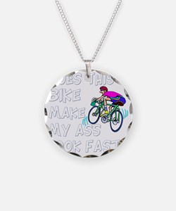Funny Bike Saying Necklace