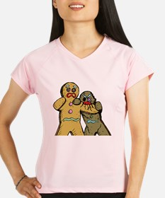 Gingerbread Zombies Performance Dry T-Shirt