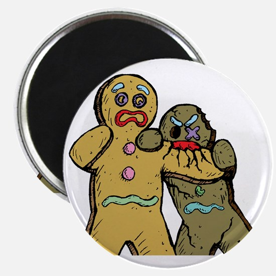 Gingerbread Zombies Magnet