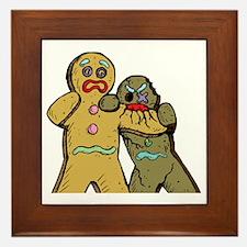 Gingerbread Zombies Framed Tile