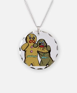 Gingerbread Zombies Necklace