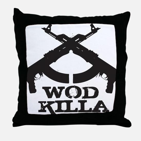 WOD Killa Throw Pillow