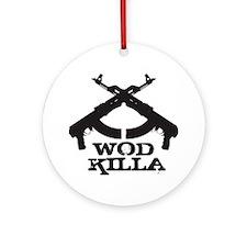 WOD Killa Round Ornament