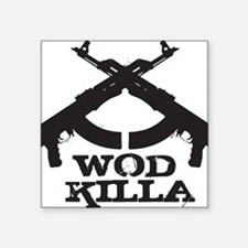 "WOD Killa Square Sticker 3"" x 3"""