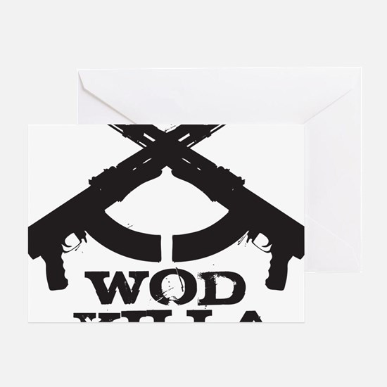 WOD Killa Greeting Card