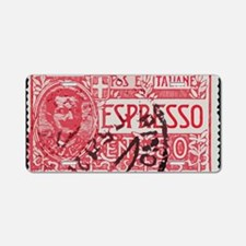 Espresso Aluminum License Plate