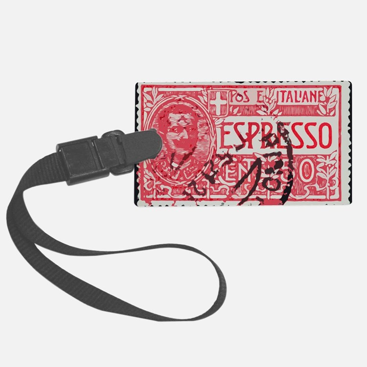 Espresso Luggage Tag