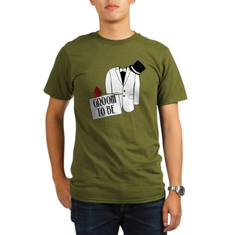 Groom To Be Organic Men's T-Shirt (dark)