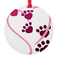 Dog Paws Ornament