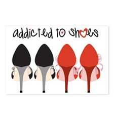 Addicted To Shoes Postcards (Package of 8)