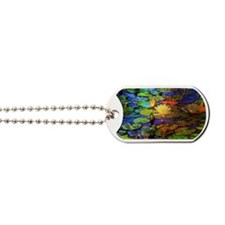 Stained Pond 11x17 Dog Tags