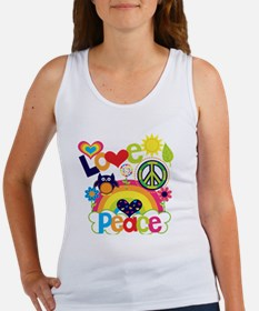 Love and Peace Women's Tank Top