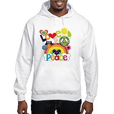 Love and Peace Hoodie