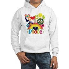 Love and Peace Jumper Hoody