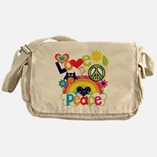 Love and Peace Messenger Bag