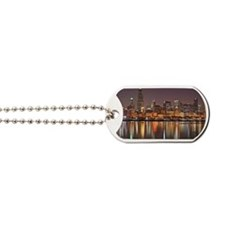 Chicago Reflected Dog Tags
