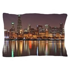 Chicago Reflected Pillow Case