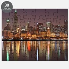 Chicago Reflected Puzzle