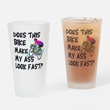 Funny Bike Saying Drinking Glass